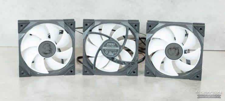 MSI MPG CoreLiquid K360 - Ventilatori