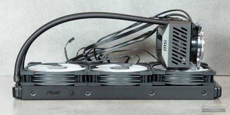 MSI MPG CoreLiquid K360 - Kit con 2 ventole