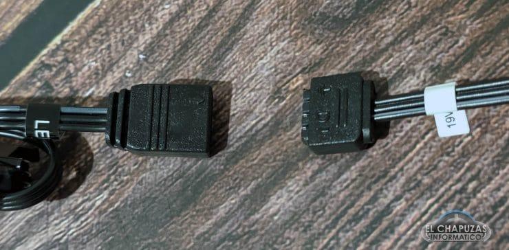 Connettori controller Razer Chroma Addresable ARGB
