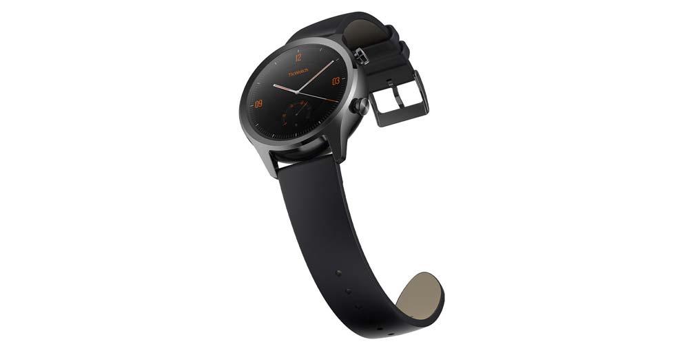 Cinturino nero Ticwatch C2