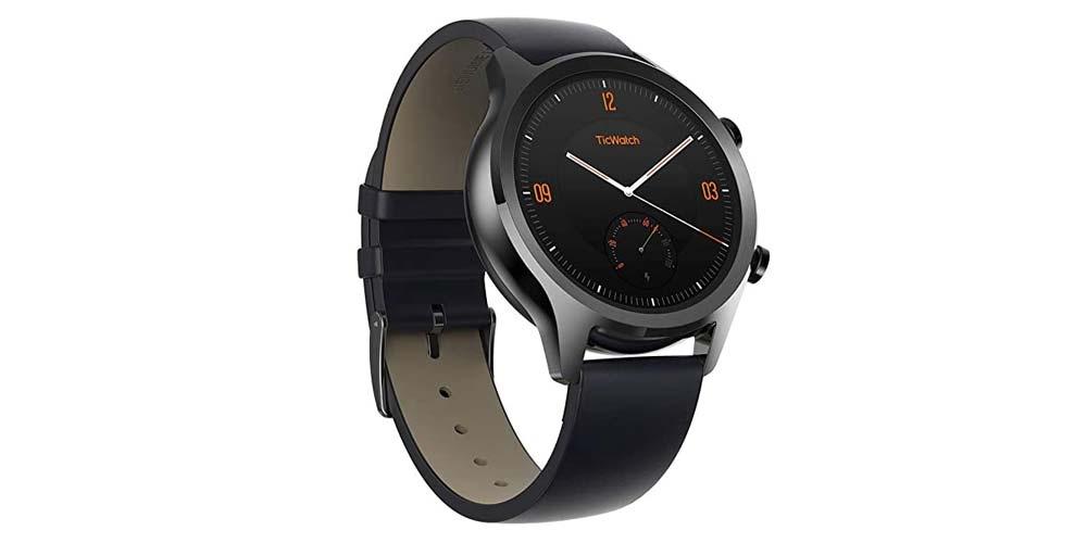 Smartwatch Ticwatch C2 di colore nero