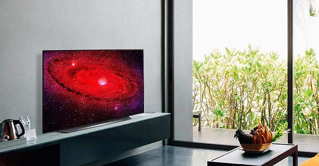 Immagine promozionale della Smart TV LG OLED CX 65