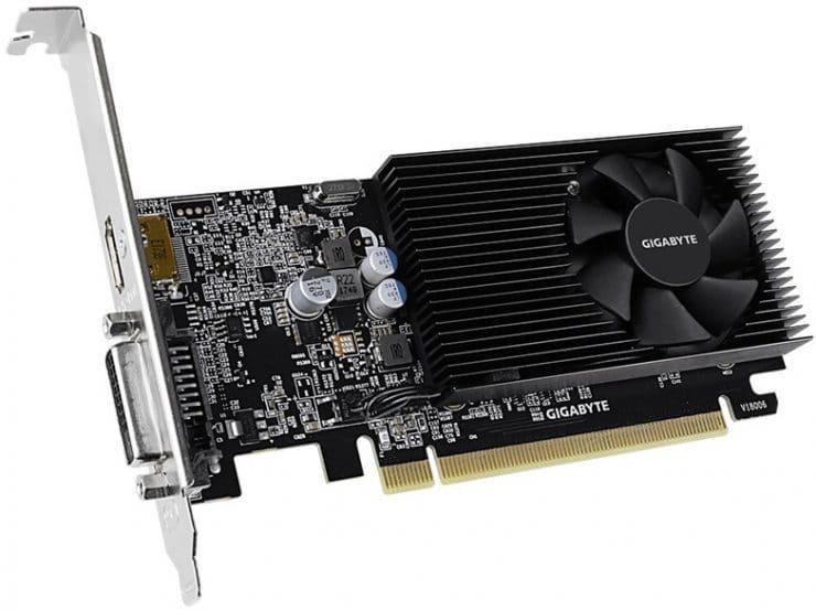 Gigabyte GeForce GT 1030 a basso profilo D4 2G
