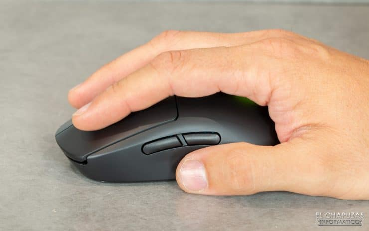 Mouse wireless Logitech G Pro - Test 2