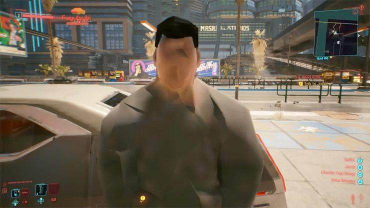 Bug di Cyberpunk 2077