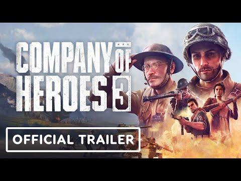 Company of Heroes 3 - Trailer di annuncio cinematografico ufficiale