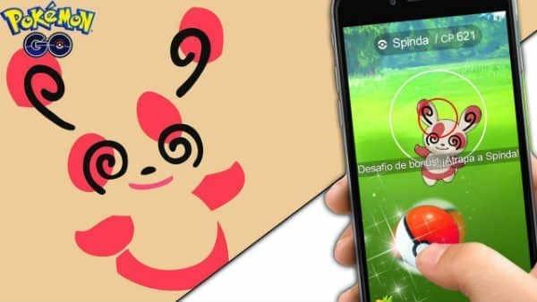 Spinda in Pokemon Go