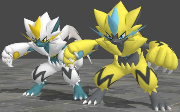 Zeraora in Pokémon Ultrasole e Ultraluna