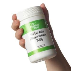 applicazioni di acido sorbico