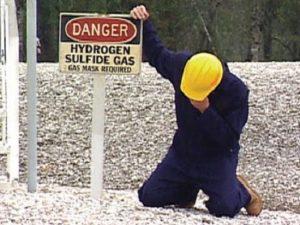 l'idrogeno solforato e il corpo umano.
