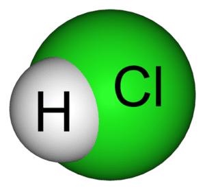 più comuni acidi forti CLORIDRICI