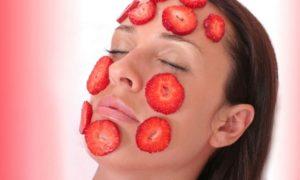 Alimenti contenenti acido salicilico. fragole