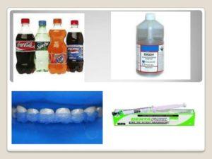 Applicazioni dell'acido fosforico.