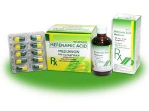 Come funziona l'acido mefenamico