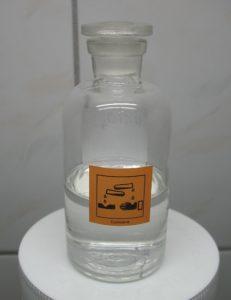 Proprietà dell'acido perclorico.