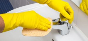usi di acido muriatico. pulizia della casa